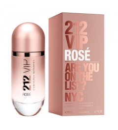 CAROLINA HERRERA 212 VIP ROSE EAU DE PERFUME 80ML VAPO.